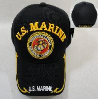 Licensed US Marine [Seal] Ball Cap *Black Only